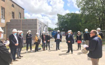 Sur le domaine de la Ducherais à Cambon, des nouveaux bâtiments pour accueillir les mineurs non accompagnés