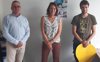 Notre service inclusion numérique s'installe à Saint-Nazaire